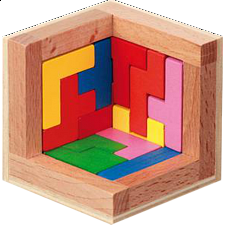 Pentominos Puzzle - European Wood Puzzles