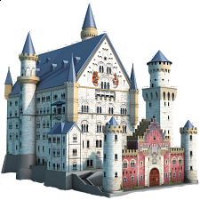 Ravensburger 3D Puzzle - Neuschwanstein Castle - 101-499 Pieces