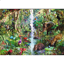 Ravensburger In the Jungle 9000 Pc Puzzle - 6000 - 32000 Pieces
