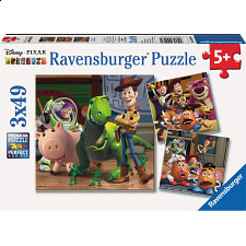 Toy Story 3: Woody & Rex - 3 x 49 piece puzzles - Search Results