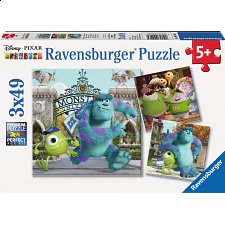 Monsters University: Mike and Sully - 3 x 49 piece puzzles - Search Results