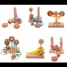 Mini Rope Puzzles - Set of 6 -