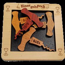 Einer Geht Noch - Mini - Wood Puzzles