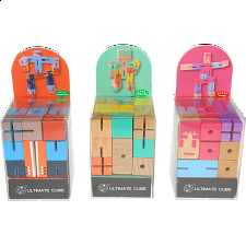 Ultimate Cube - Set of 3 - Wood Puzzles