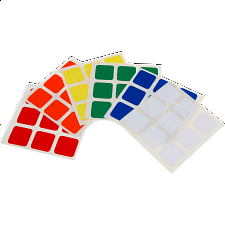 3x3x3 Dayan Stickers Set - Rubik's Cube & Others