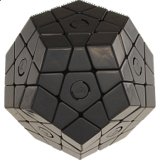 Constrained Megaminx - Black Body DIY - Rubik's Cube & Others