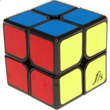 XingYu 2x2x2 - Black Body (50x50mm) - Rubik's Cube & Others
