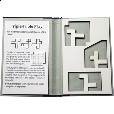 Puzzle Booklet - Triple-Triple Play - Wood Puzzles