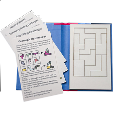 Puzzle Booklet - Geomagic Hexominoes - Wood Puzzles
