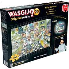 Wasgij Original #20: Fishy Business - 500-999 Pieces