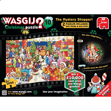 Wasgij Christmas #10: The Mystery Shopper - 2 x 1000 pc puzzles - 1000 Pieces