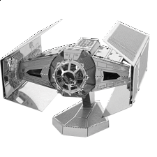 Metal Earth: Star Wars-Darth Vader's Tie Advanced X1 Starfighter - Models and Kits