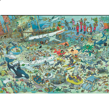 Jan van Haasteren Comic Puzzle - Deep Sea Fun - Search Results
