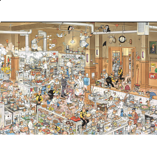 Jan van Haasteren Comic Puzzle - The Kitchen - 1000 Pieces