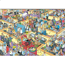 Jan van Haasteren Comic Puzzle - The Office - Search Results