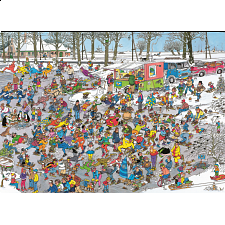 Jan van Haasteren Comic Puzzle - On Thin Ice - Search Results