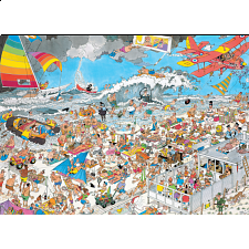 Jan van Haasteren Comic Puzzle - At The Beach - Search Results