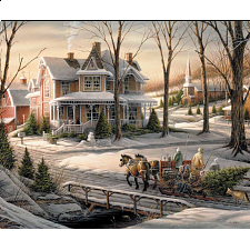 Terry Redlin - Homeward Bound - 1000 Pieces