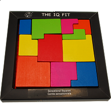 IQ Fit - Sensational Squares - Other Wood Puzzles