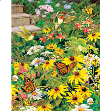 Busy Blooms - 500-999 Pieces