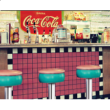 Coca-Cola Soda Shop - Jigsaws