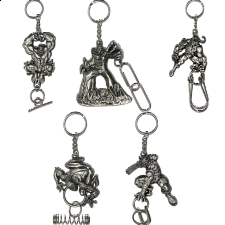 Group Special - a set of 5 Marvel Heroes puzzle keychains - Other Wire / Metal Puzzles