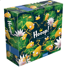 Hoop: A Frog Jumping Game of Logic - Board Games