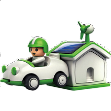 Green Life Plug In Solar Rechargeable Kit - Games & Toys