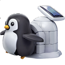 Penguin Life Plug In Solar Rechargeable Kit - Geeky Gadgets