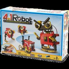 4-in-1 Educational Motorized Robot Kit -