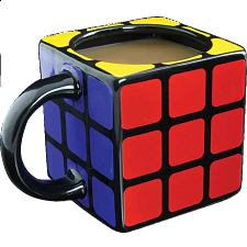 Rubik's Cube Shaped Mug - Rubik's Cube & Others