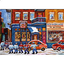 St. Viateur Bagel & Hockey - 1000 Pieces
