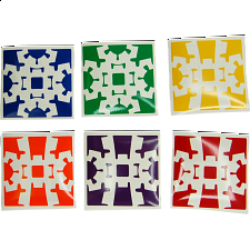 Gear Cube Extreme Stickers - Other Rotational Puzzles