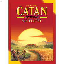 Catan: 5 - 6 Player Extension (5th Edition) - Strategy Games