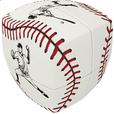 V-CUBE 2 Pillow (2x2x2): Baseball - V-Cube