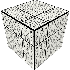 V-CUBE 3 Flat (3x3x3): V-udoku Cube - Search Results