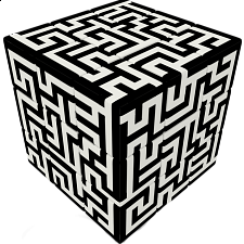 V-CUBE 3 Flat (3x3x3): Maze - Search Results