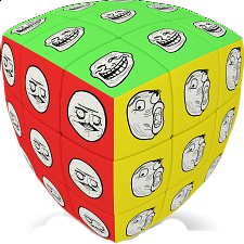 V-CUBE 3 Pillow (3x3x3): Meme Cube - Search Results