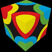 V-CUBE 3 Flat (3x3x3): Circles United -