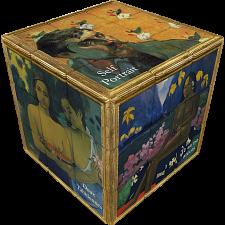 V-CUBE 3 Flat (3x3x3): Gauguin -