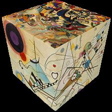 V-CUBE 3 Flat (3x3x3): Kandinsky -