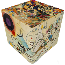V-CUBE 3 Flat (3x3x3): Kandinsky - Search Results