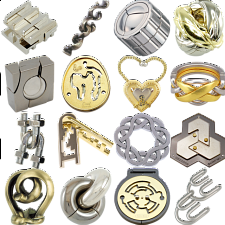 .Level 8 - a set of 16 Hanayama Puzzles - Search Results
