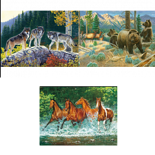 Jigsaw Puzzle Set - Wildlife - 1000 Pieces