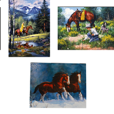 Jigsaw Puzzle Set - Horses - Jigsaws