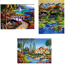 Jigsaw Puzzle Set - Art - 1000 Pieces