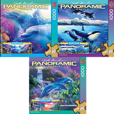 Jigsaw Puzzle Set - Ocean Panoramics - 1000 Pieces