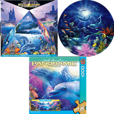 Jigsaw Puzzle Set - Dolphins - Shaped - 500-999 Pieces