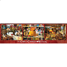 Panoramic: The Cats of Charles Wysocki - 500-999 Pieces