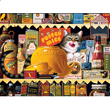 The Cats of Charles Wysocki: Ethel the Gourmet - 500-999 Pieces
